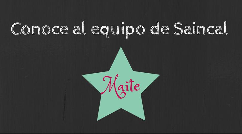 ¿ Sabes quien es Maite?