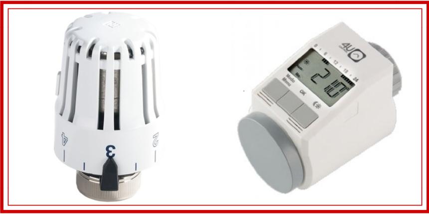 Válvulas termostáticas