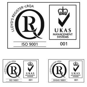 Saincal consigue certificarse en  ISO 9001, 14001 y OHSAS 18001
