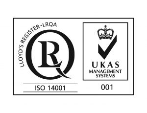 ISO14001 with UKAS