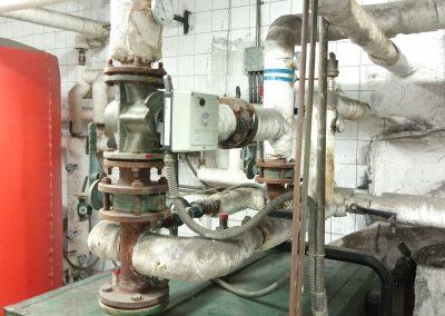 Reforma parcial sala de calderas. Comunidad de propietarios Getxo 2