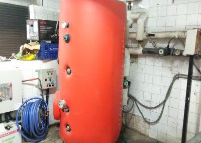 Reforma parcial sala de calderas. Comunidad de propietarios Getxo 3