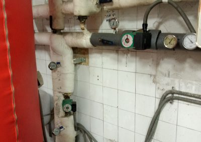 Reforma parcial sala de calderas. Comunidad de propietarios Getxo 4