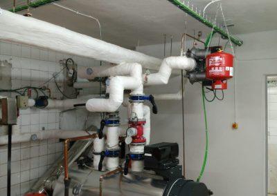 Reforma parcial sala de calderas. Comunidad de propietarios Getxo 9