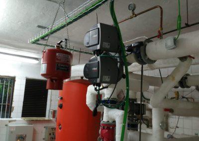 Reforma parcial sala de calderas. Comunidad de propietarios Getxo 10